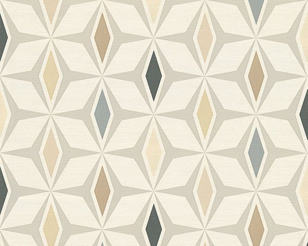 Wallpaper graphics retro AS Creation creamwhite 30476-3 online kaufen