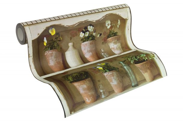 Tapete Landhaus Blumen AS Creation bunt 30648-1 online kaufen