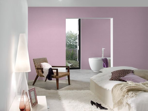Wallpaper plain texture AS Creation purple 30688-3 online kaufen