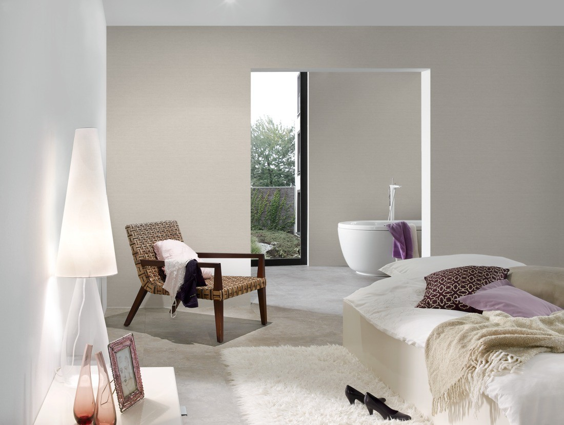 Wallpaper plain beige AS Creation 30688-6