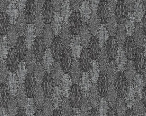 Wallpaper graphics AS Creation grey black 30693-4 online kaufen