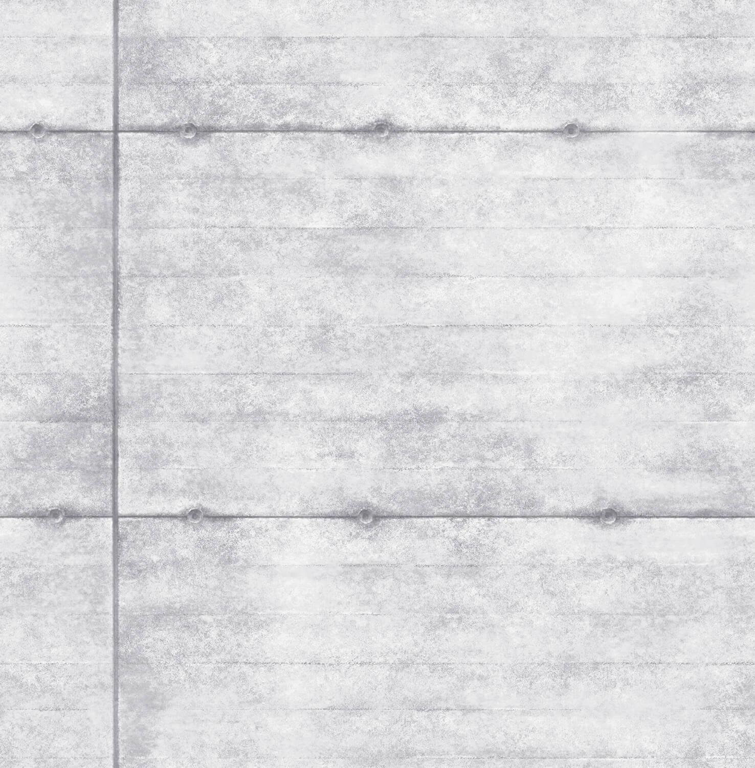 Wallpaper Stone Style Cement Wand Rasch Textil Grey 022303 001
