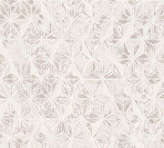 Wallpaper Graphic Metallic white AS Creation 30705-3 online kaufen