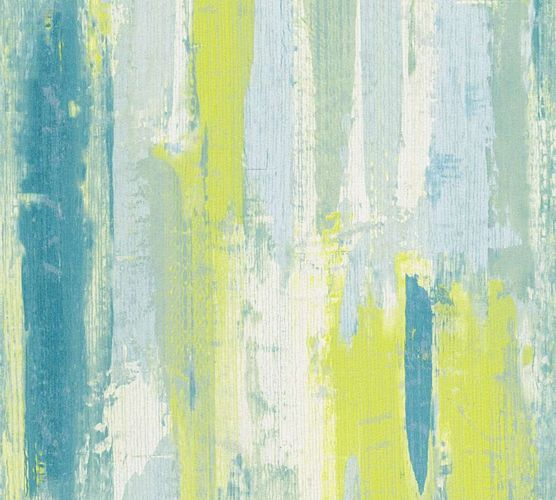 Wallpaper Shabby Design green blue Lutèce 31949-3