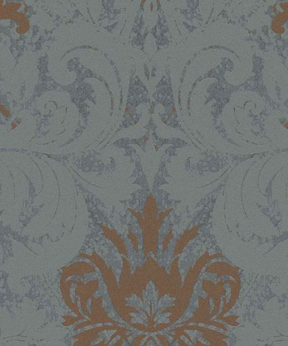 Wallpaper baroque shine blue Marburg La Veneziana 57919 online kaufen
