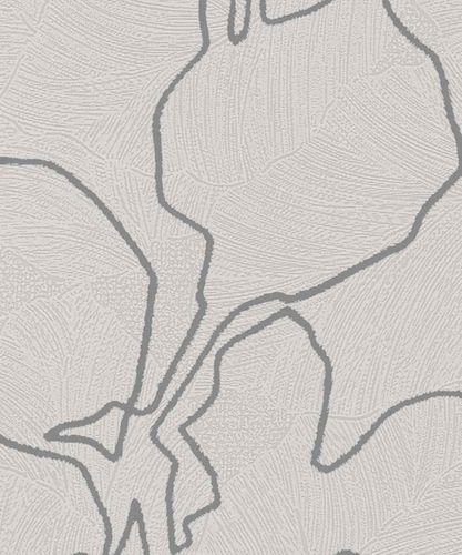 Wallpaper floral shine beige Marburg La Veneziana 57946 online kaufen