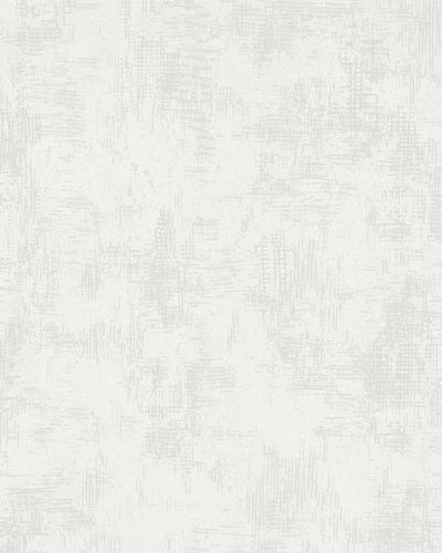 Non-Woven Wallpaper Plaster Structure white Metallic 58002