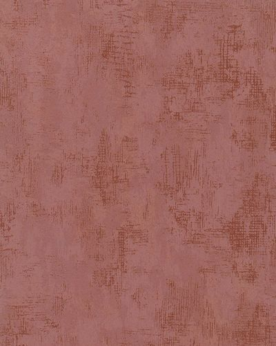 Non-Woven Wallpaper Plaster dark red gold Metallic 58004