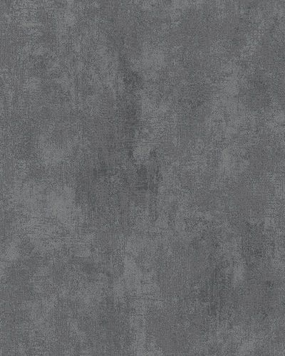 Non-Woven Wallpaper Plaster anthracite black Gloss 58007