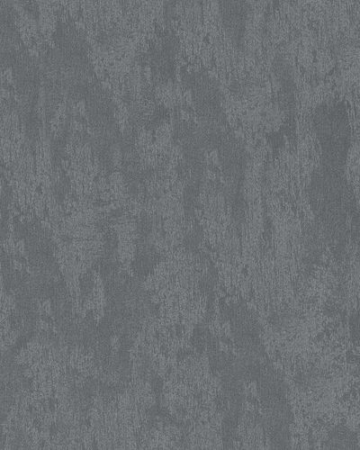 Non-Woven Wallpaper Plaster anthracite black Metallic 58018