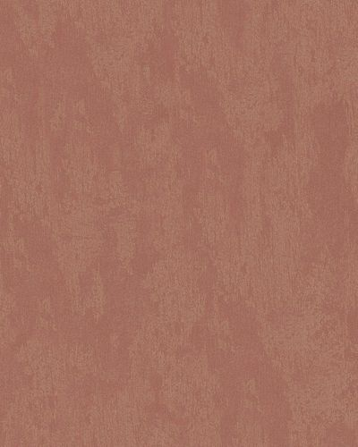 Non-Woven Wallpaper Plaster red copper gold Metallic 58019