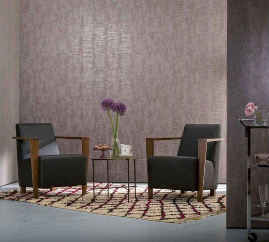 Wallpaper plain shine taupe Marburg Nabucco 58024 online kaufen