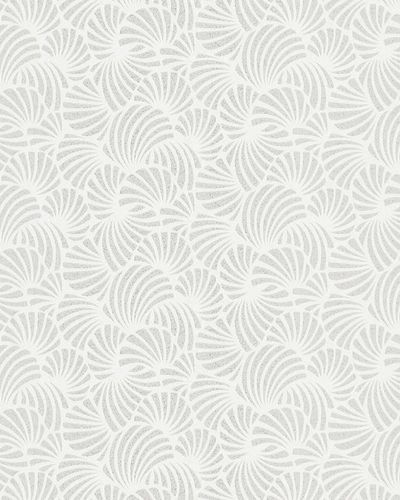 Wallpaper graphic glitter white Marburg Nabucco 58028