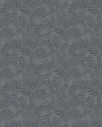 Wallpaper graphic glitter grey Marburg Nabucco 58029
