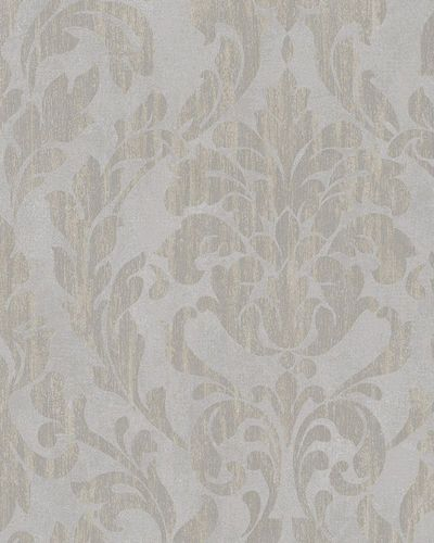 Wallpaper tendril floral shine grey taupe Marburg 58034 online kaufen