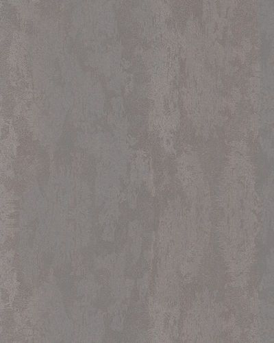 Non-Woven Wallpaper Plaster grey violett Metallic 58040