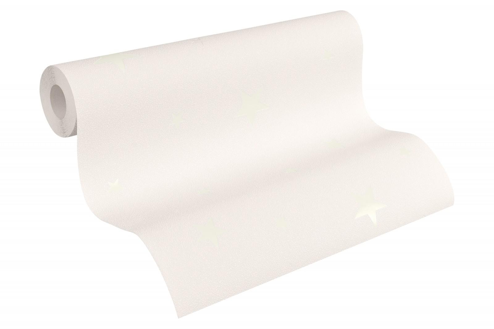 tapete leuchttapete fluoreszierend sterne beige 32440 4. Black Bedroom Furniture Sets. Home Design Ideas