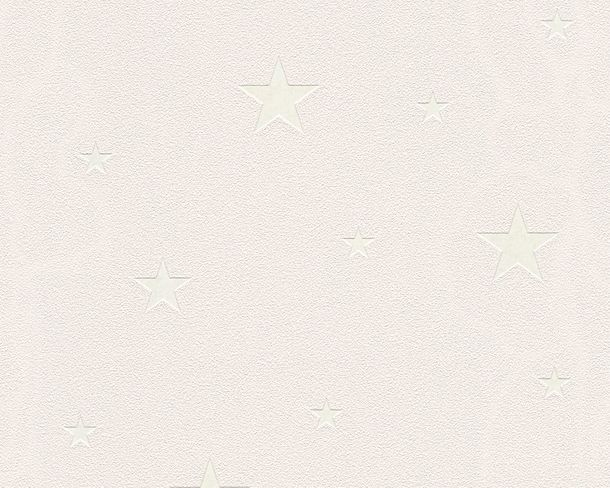 Luminous Wallpaper Glowing stars beige white 32440-4 online kaufen