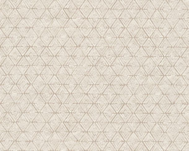 Wallpaper diamond graphic Lutèce grey beige 32710-4 online kaufen