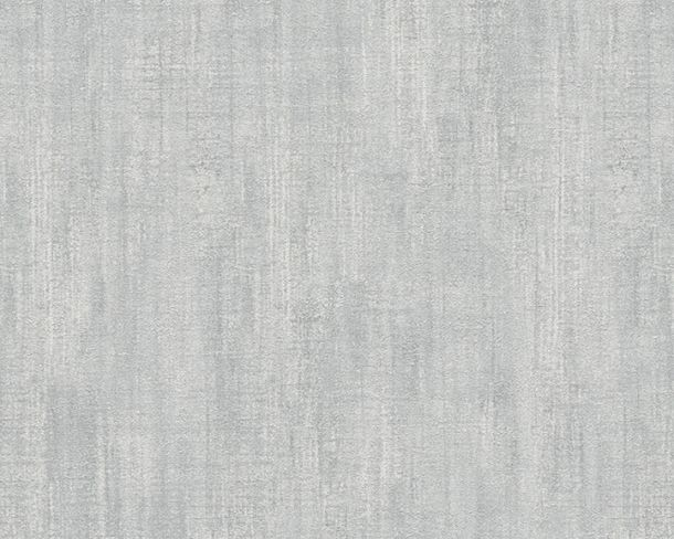 Wallpaper textured plain Lutèce grey 32711-6