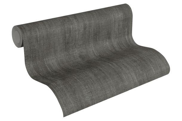 Wallpaper textured plain Lutèce black 32711-7 online kaufen