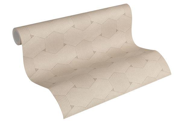 Wallpaper Comb Lutèce beige cream 32659-2 online kaufen