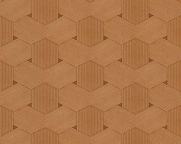 Wallpaper Comb Lutèce brown 32659-6