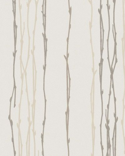 Wallpaper tendril natural cream glitter Marburg 57708 online kaufen