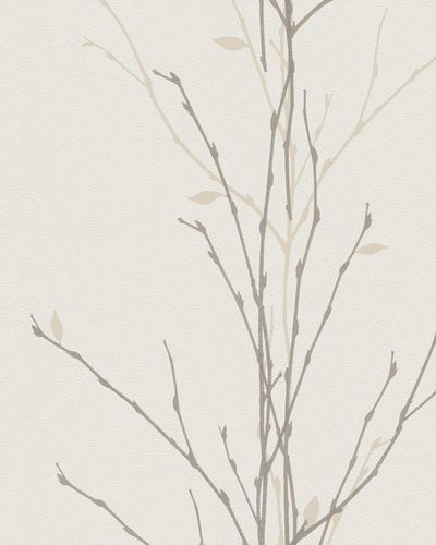 Wallpaper tendril natural cream glitter Marburg 57716 online kaufen
