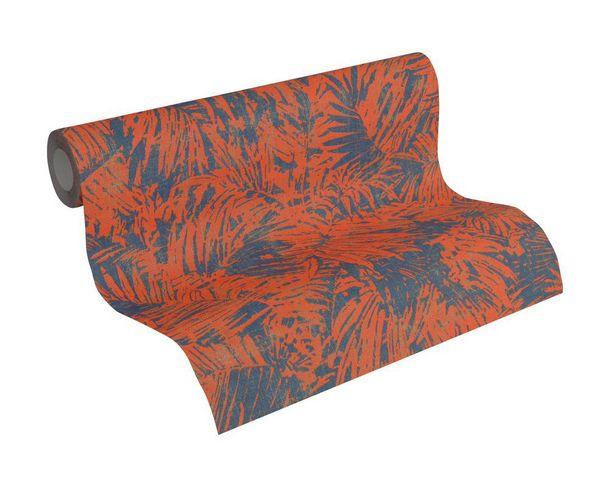 Wallpaper nature fern AS Creation blue copper 32263-4 online kaufen