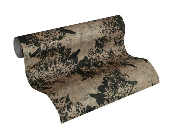 Wallpaper nature leaf AS Creation black bronze 32264-1 online kaufen