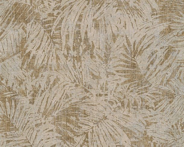 Wallpaper nature fern AS Creation beige gold 32263-3 online kaufen