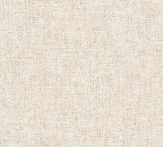 Non-Woven Plain Mottled cremebeige gold metallic 32261-2