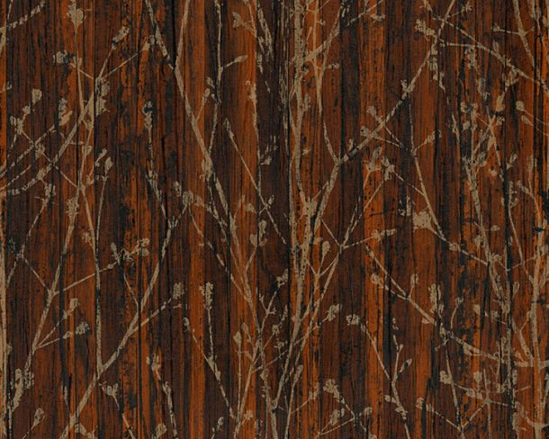 Wallpaper natural branches AS Creation brown 32713-2 online kaufen