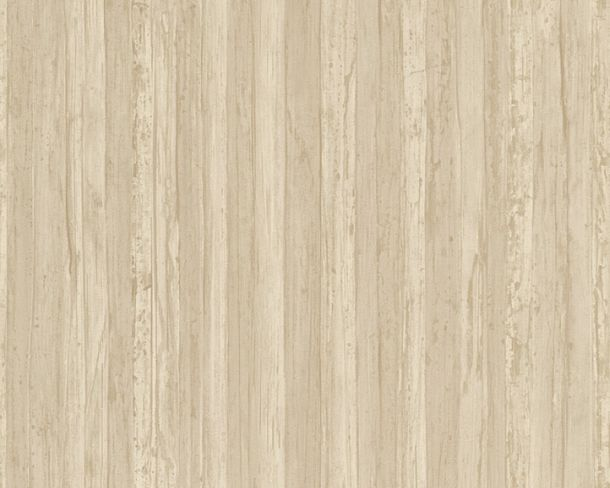 Wallpaper wooden board AS Creation beige 32714-3