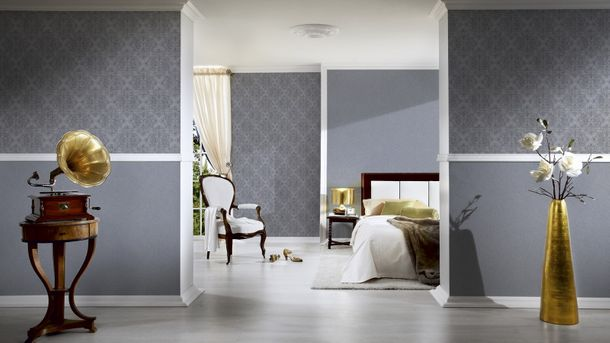 Wallpaper texture glitter grey AS Creation 31968-3 online kaufen