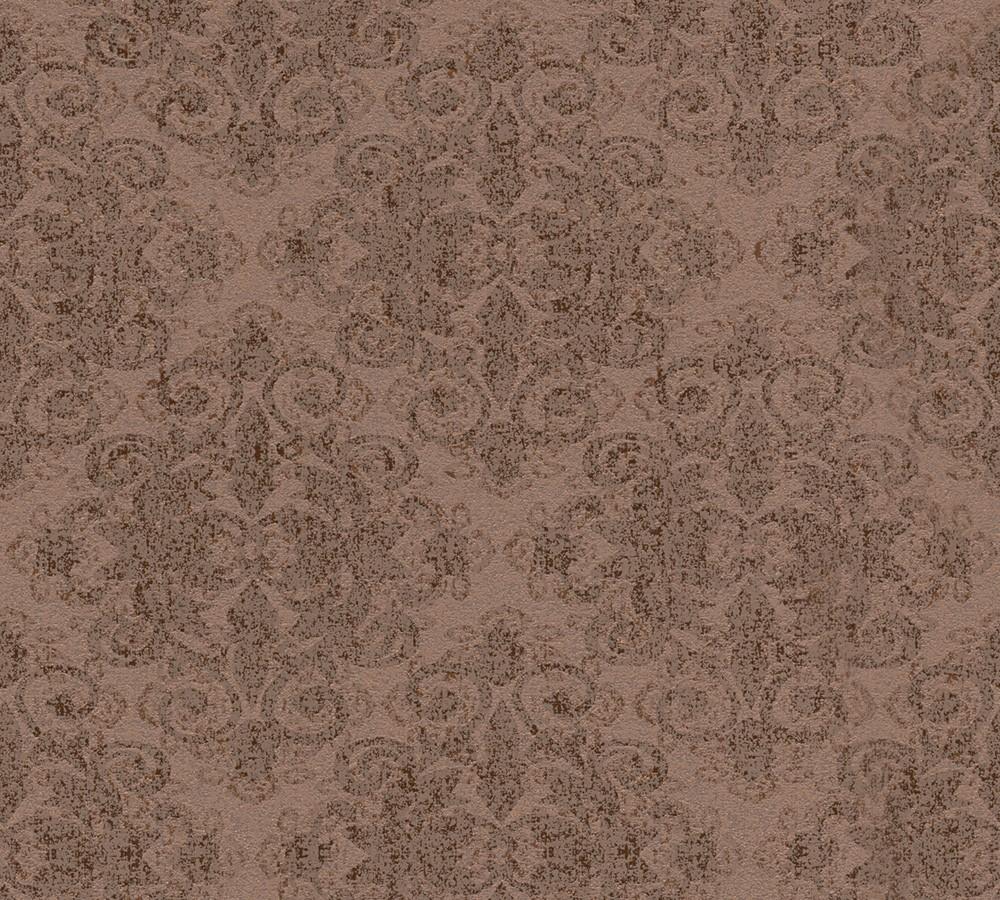 tapete ornamente glitzer braun gold as creation 31990 3. Black Bedroom Furniture Sets. Home Design Ideas