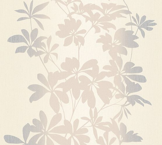Wallpaper floral AS Creation beige metallic 32584-1