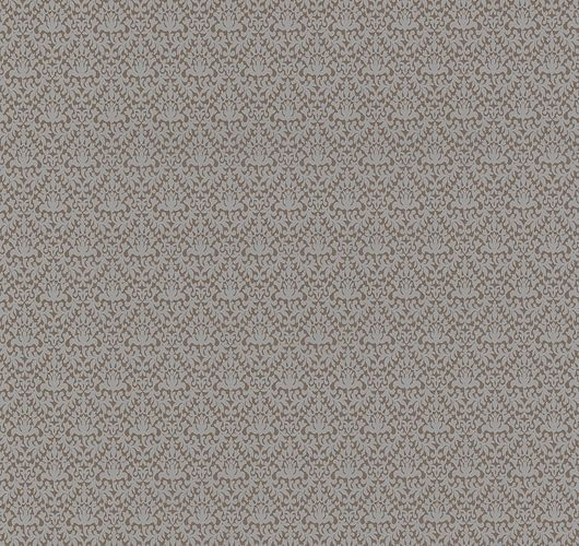 Wallpaper ornaments shine brown grey P+S 13483-70 online kaufen