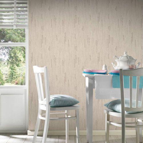 Wallpaper texture AS Creation beige brown Metallic 31850-5 online kaufen