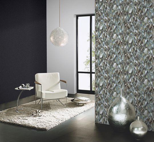 Wallpaper plain textured white glitter P+S 02403-30 online kaufen