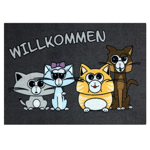 Door Mat Dirt Barrier Mat Cats Pets Animal Comic 50x70cm online kaufen