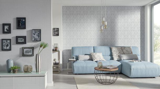Wallpaper plain design grey Erismann Prime Time 6432-10 online kaufen