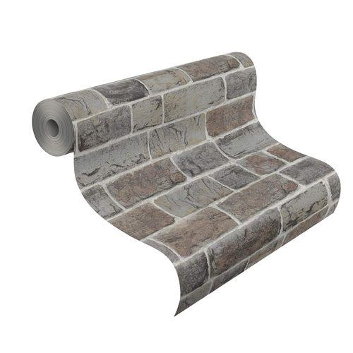 Teen's Wallpaper Stone Wall grey brown Rasch 217339 online kaufen