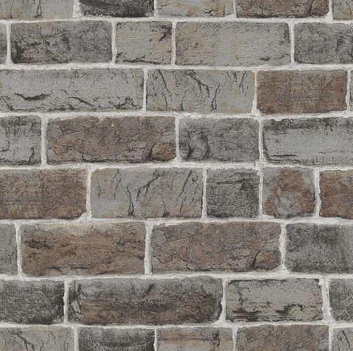Teen's Wallpaper Stone Wall grey brown Rasch 217339 online kaufen