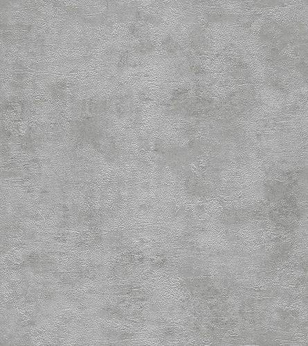 Wallpaper plain design textured Rasch Shine silver 282443