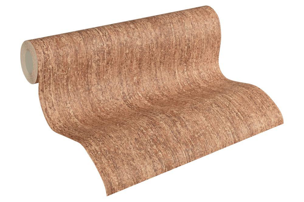 vliestapete vintage struktur rotbraun as creation 32525 2. Black Bedroom Furniture Sets. Home Design Ideas