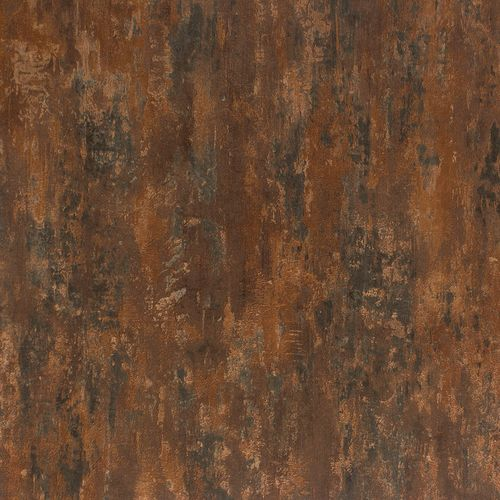 Non-Woven Wallpaper Patina copper red Metallic 32651-1