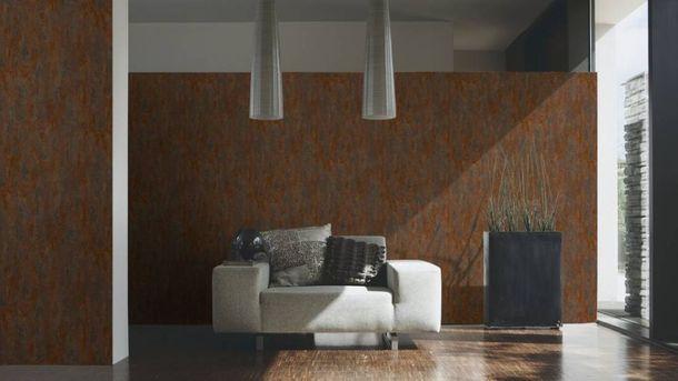 Non-Woven Wallpaper Patina copper red Metallic 32651-1 online kaufen