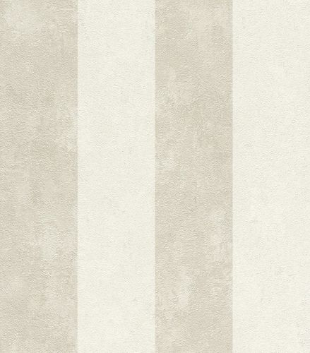 Wallpaper striped texture Rasch Lucera cream 608915